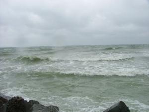 Marea Neagra in acel septembrie - zi cu ploaie